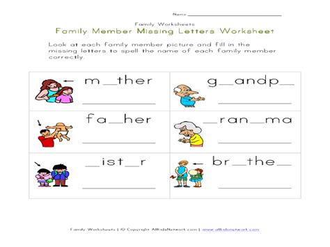 Family Worksheets In by My Family Worksheets For Kindergarten 328 Free Family