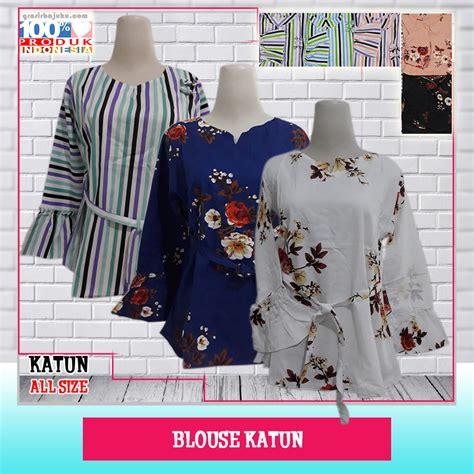 Bisnis Baju 5ribu bisnis blouse katun murah grosir baju murah 5ribu