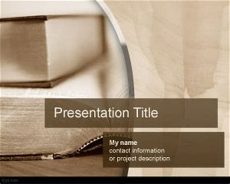 book layout powerpoint literature powerpoint template