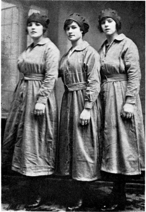 women hairstyle france 1919 the trebor sugar girls