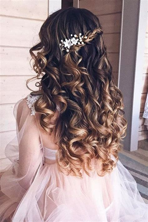 best 25 bridal hairstyles down ideas on pinterest