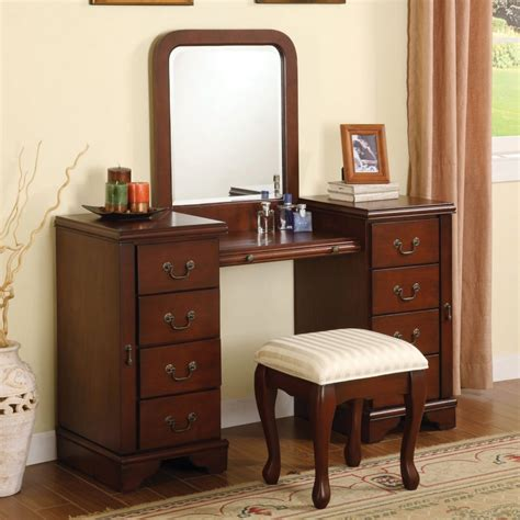 Jewelry Mirror Armoire Bedroom Awesome Simple Brown Bedroom Vanity In Green