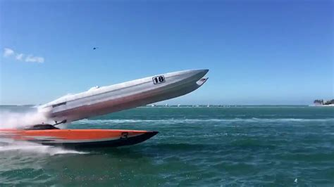 hydrofoil boat crash super boat crashes all through race in critical west