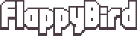 Flappy Bird Logo / Games / Logonoid.com