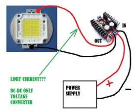 make a 100 watt led floodlight constant current driver circuit electronic circuit projects