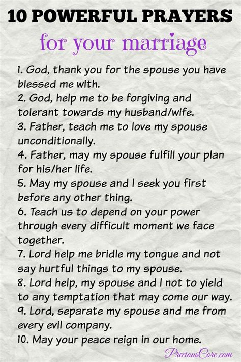 Wedding Blessing For My by 10 Powerful Prayers For Your Marriage Precious