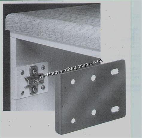 1pr kitchen door hinge repair plate from the hardware emporium