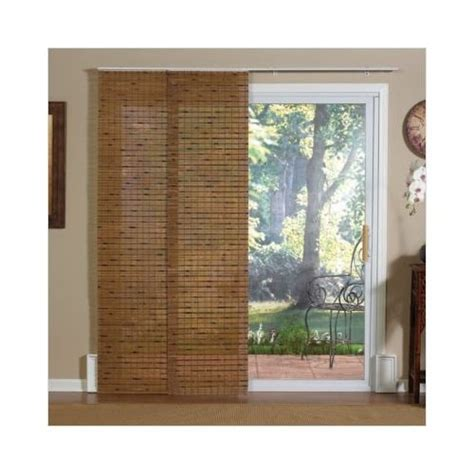 sliding window coverings wooden track panel jcp