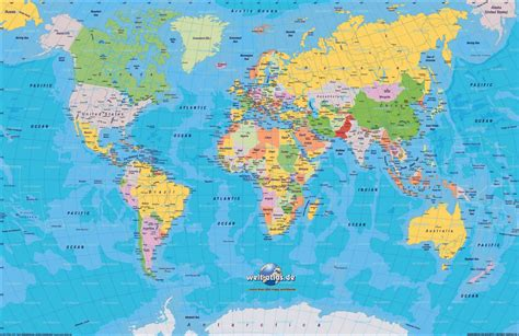 on the world map world map continents