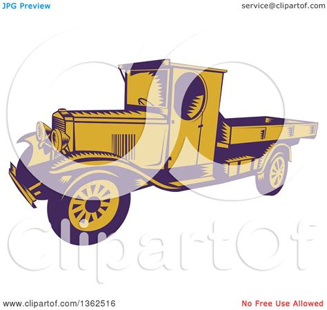 clipart of a retro woodcut clipart of a retro woodcut purple and yellow 1920s