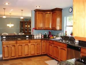 Kitchen Design With Oak Cabinets Kitchen Great Kitchen Paint Colors With Oak Cabinets And