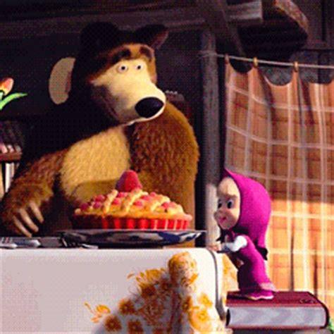 wallpaper bergerak masha and the bear gambar animasi masha and the bear bergerak gambar masha