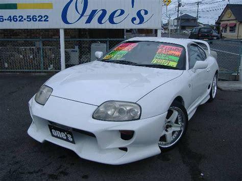 Toyota Supra For Sale In Florida 1996 Toyota Supra Sz R For Sale Miami Florida