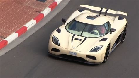 koenigsegg cream video cream and purple koenigsegg agera r in monaco