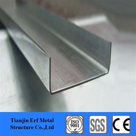 u section steel channel structural building materials hdg galvanized u shape