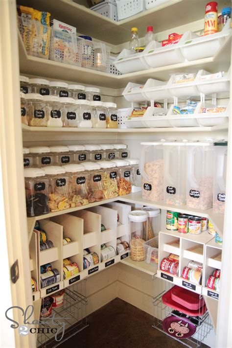 kitchen shelf organization ideas 30 clever ideas to organize your kitchen in the garage 174