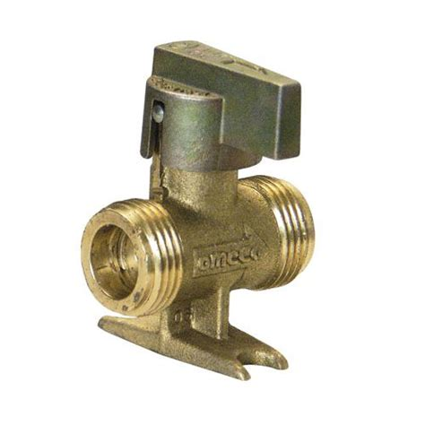 robinet d arret 1 4 de tour a patte pour gaz propane 44750