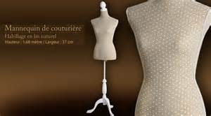 mannequin de couture deluxe 233 cru et blanc