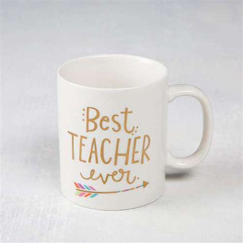best mugs teacher mugs with best teacher ever sentiment natural life