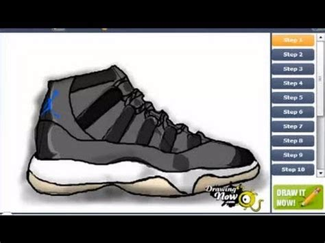7 Awesome Shoes To Step You Into by How To Draw Air Space Jam Shoes