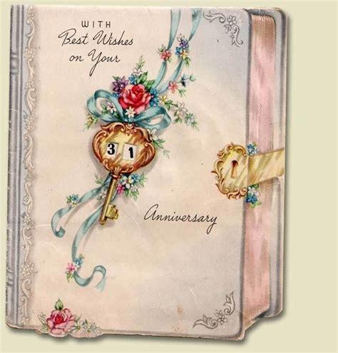 Wedding Anniversary Cards Vintage by Vintage Anniversary Kitsch Anniversary