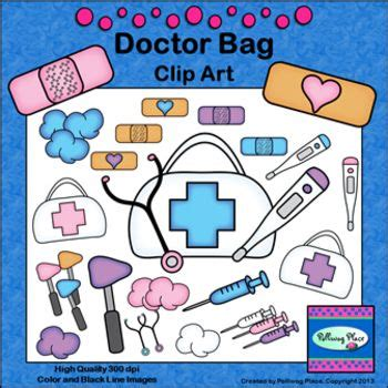 Dokter Emergency Bag doctor bag clip aid supplies