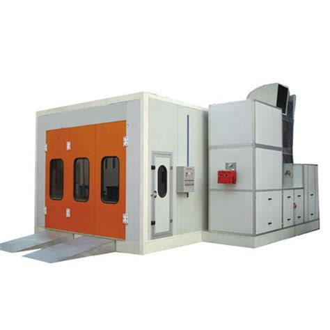 spray painting near furnace high quality infrared heating system spray booth factory
