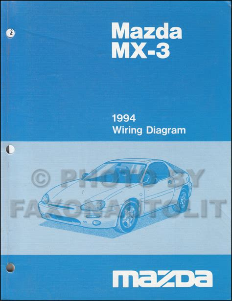 automotive service manuals 1994 mazda mx 3 parental controls 1994 mazda mx 3 wiring diagram manual original