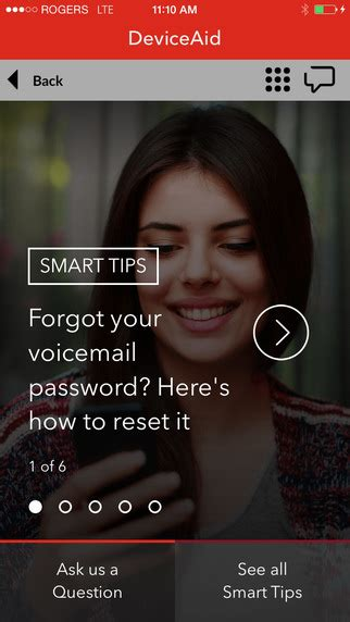 how to reset your voicemail password on my iphone howsto co myrogers iphone app updated with access to more account