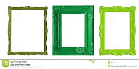 cornici jpg cornici verdi illustrazione di stock immagine di spazio