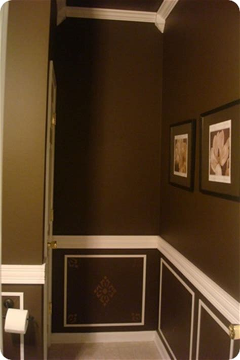 brown painted bathrooms grey and chocolate brown bathroom interior decorating