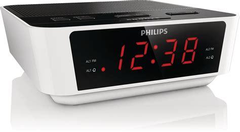 philips aj3115 05 digital tuning clock radio alarm white ebay