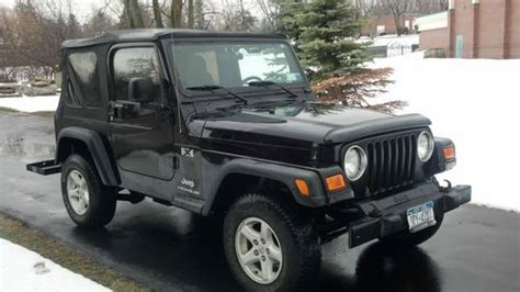Used Jeeps For Sale Buffalo Ny Buy Used 2006 Jeep Wrangler X Sport Utility 2 Door 4 0l In
