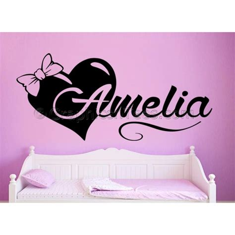 name wall stickers for nursery bedroom nursery personalised name wall sticker with