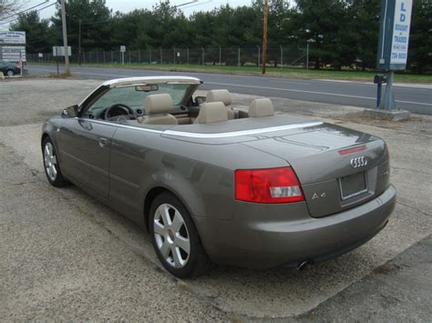 2006 Audi A4 2006 audi a4 1 8 turbo convertible salvage for sale