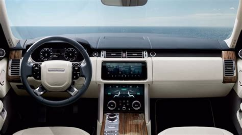 land rover interior 2018 2018 range rover facelift officially revealed p400e phev
