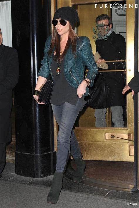 Mrs Beckham Looks Cool In by уличный стиль виктории бэкхэм блогер Pardonmyfrench на