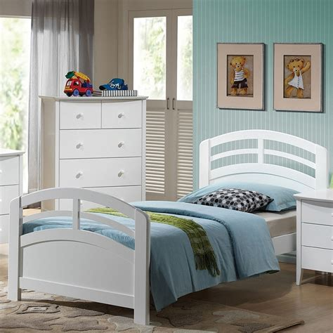 san marino bedroom set dreamfurniture com 19155 san marino white finish bedroom set