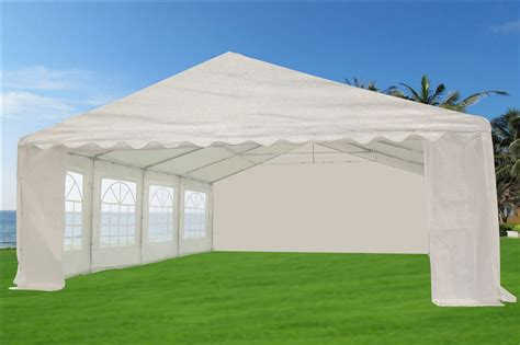 Tent Awnings For Sale by 46 X 20 Heavy Duty White Tent Gazebo Canopy