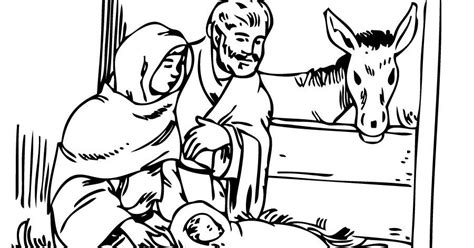 imagenes del nacimiento de jesus a color dibujos para colorear del nacimiento de jesus dibujos