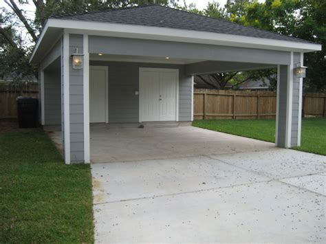 Garage Plans With Carport by Carport With Storage Door To Kitchen And Storage On Sides