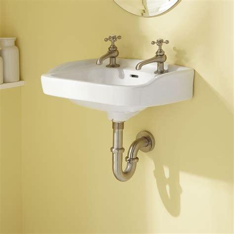 wall hung sink brackets vietti wall hung lavatory with wall brackets white