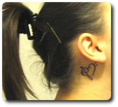julie johnston tattoo behind ear 21 best ideas about tattoos for behind the ear on