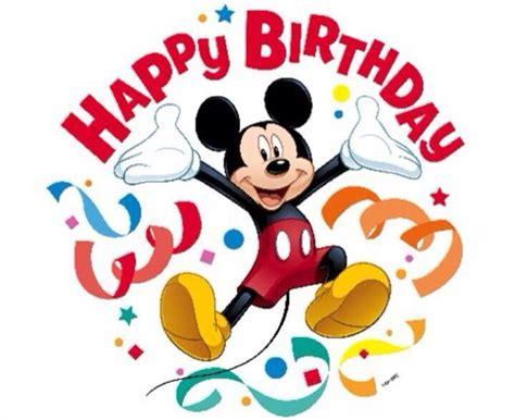 Mickey Mouse Wishing Happy Birthday Happy Birthday Birthday Pinterest Happy Birthday