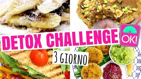 Dieta Detox 3 Giorni by Dieta Detox Menu 3 Giorni Challenge Dimagrire Senza