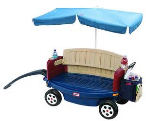 Kids Wagon Canopy by Little Tikes Deluxe Ride Amp Relax Wagon With Umbrella