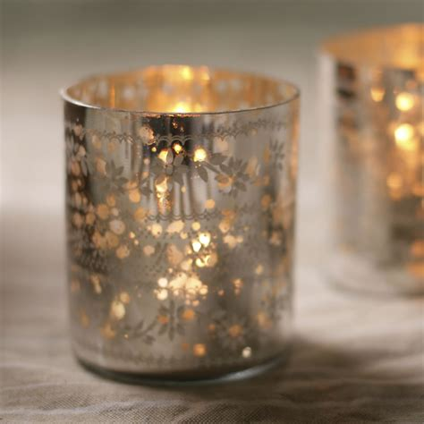 tea light holder sparkling silver tea light holders curiosity home