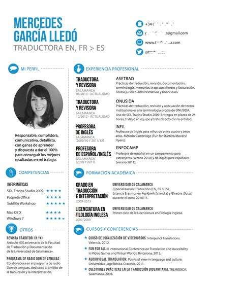 curriculum vitae formato ideal fpempleo propuesta para tu cv ideal