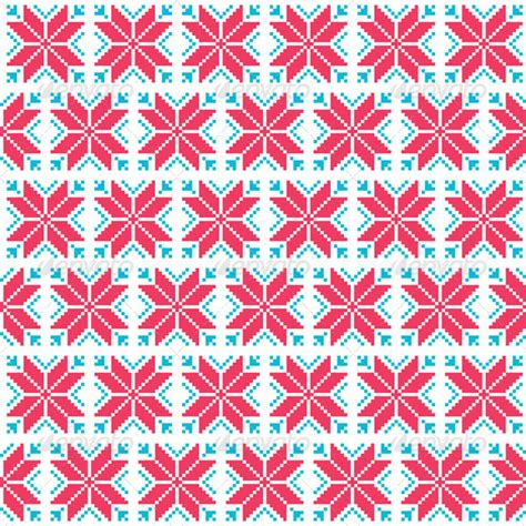nordic pattern illustrator stock vector graphicriver christmas nordic seamless