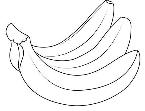 banana color apples and bananas coloring pages and print for free